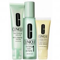 Clinique 3-Step Intro Kit Skin Type 1 Set 1x100ml, 1x50ml,