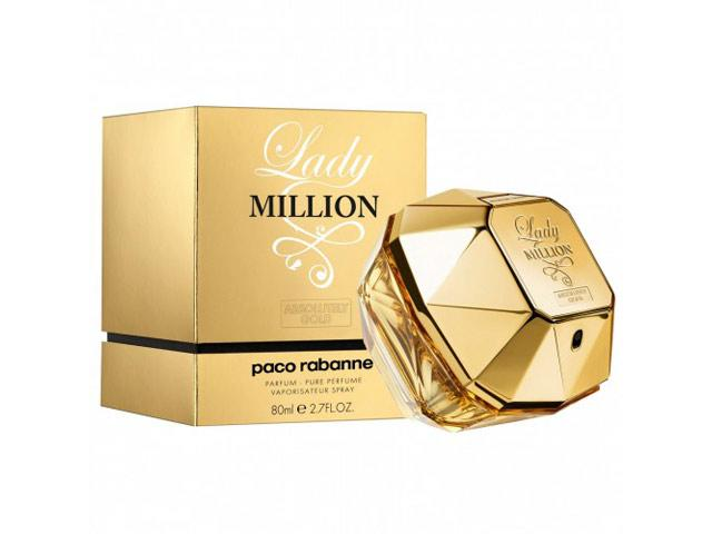 Paco Rabanne Lady Million Absolutely Gold Perfume 80 ml