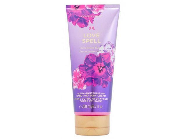 Victoria's Secret Love Spell Hand & Body Cream  Cherry Blossom and Peach Cream 185 gr